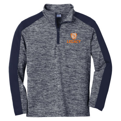 Sport-Tek - Youth PosiCharge Colorblock 1/4-Zip Pullover - Embroidered Logo Thumbnail