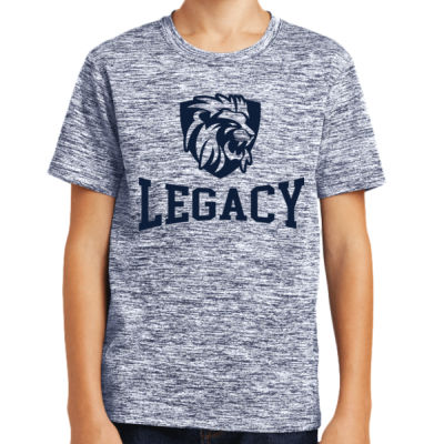 Sport-Tek - Youth PosiCharge Electric Heather Tee - Sublimated Logo Thumbnail